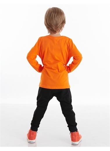 Mushi Tigers Erkek Çocuk Pantolon Takım Siyah